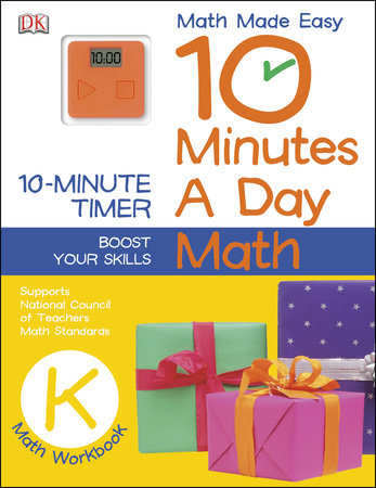 10 Minutes a Day: Math, Kindergarten by DK
