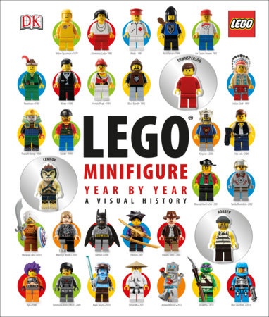 LEGO Minifigure Year by Year: A Visual History by Gregory Farshtey and Daniel Lipkowitz