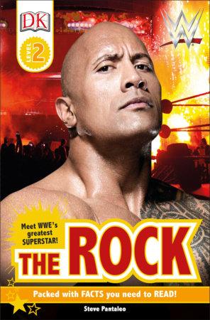DK Reader Level 2:  WWE The Rock by Steve Pantaleo