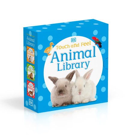 Touch and Feel: Animal Library by DK