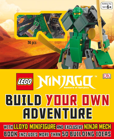 LEGO® NINJAGO: Build Your Own Adventure by DK