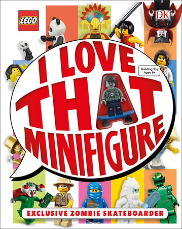 LEGO: I Love That Minifigure by DK
