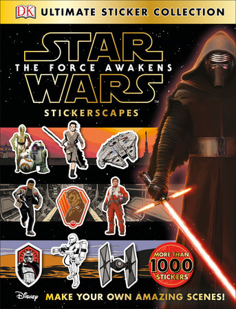 Ultimate Sticker Collection: Star Wars: The Force Awakens Stickerscapes by Julie Ferris