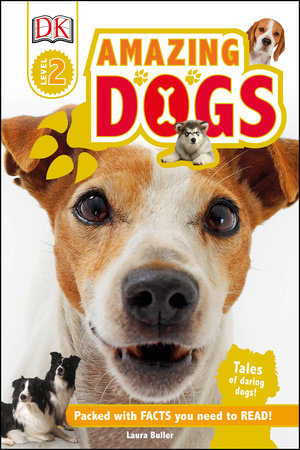 DK Readers L2: Amazing Dogs by Laura Buller