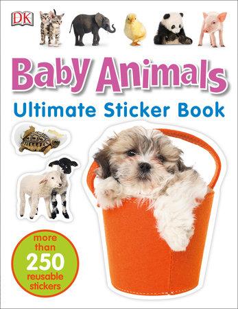 Ultimate Sticker Book: Baby Animals by DK