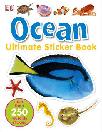 Ultimate Sticker Book: Ocean by DK