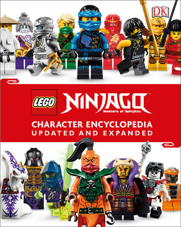 LEGO NINJAGO Character Encyclopedia, Updated Edition (Library Edition) by DK