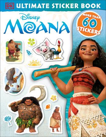 Ultimate Sticker Book: Disney Moana by DK