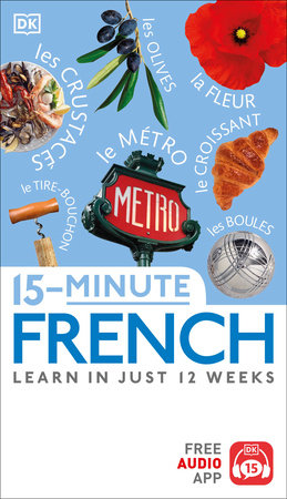15-Minute French by DK