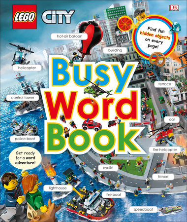 LEGO CITY: Busy Word Book by DK