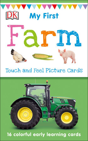 My First Touch and Feel Picture Cards: Farm by DK