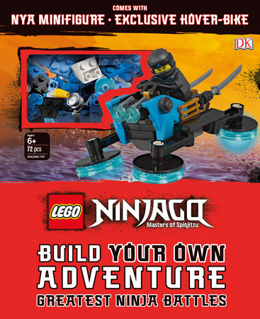 LEGO NINJAGO Build Your Own Adventure Greatest Ninja Battles by DK