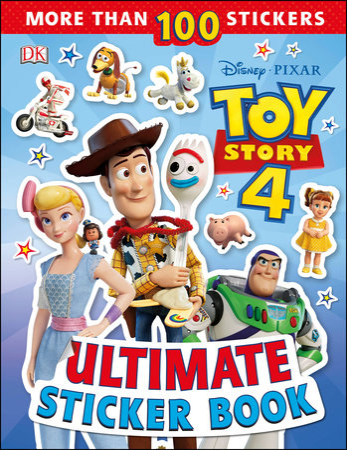 Ultimate Sticker Book: Disney Pixar Toy Story 4 by DK