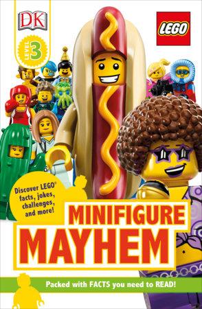 DK Readers Level 3: LEGO Minifigure Mayhem by DK