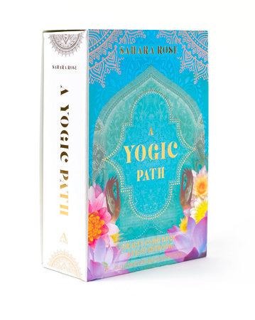 A Yogic Path Oracle Deck and Guidebook (Keepsake Box Set) by Sahara Rose Ketabi