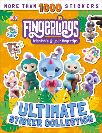 Fingerlings Ultimate Sticker Collection by DK
