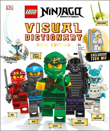 LEGO NINJAGO Visual Dictionary, New Edition by Arie Kaplan and Hannah Dolan