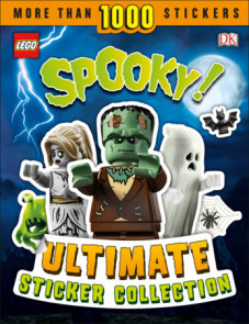 LEGO Spooky! Ultimate Sticker Collection