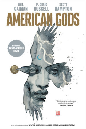 American Gods Volume 1: Shadows (Graphic Novel) by Neil Gaiman and P. Craig Russell