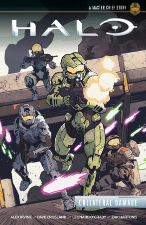 Halo: Collateral Damage by Alex Irvine