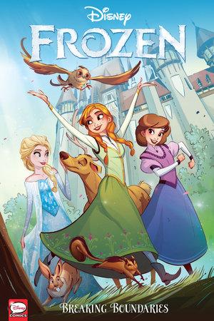 Disney Frozen: Breaking Boundaries (Graphic Novel) by Joe Caramagna