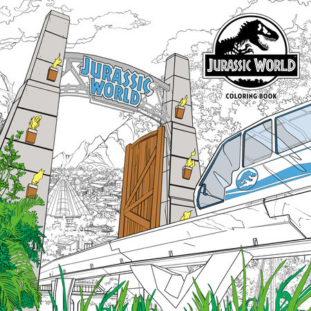 Jurassic World Adult Coloring Book by NBC Universal