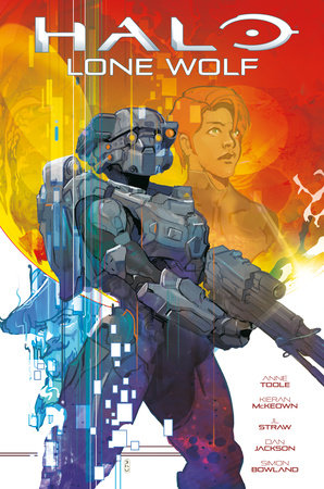 Halo: Lone Wolf by Anne Toole