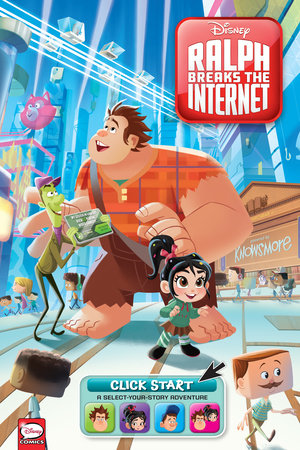 Disney Ralph Breaks the Internet: Click Start-- Select-Your-Story Adventure (Graphic Novel) by Disney, Joe Caramagna and Amy Mebberson