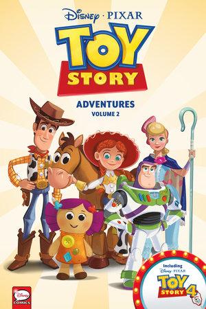 Disney·PIXAR Toy Story Adventures Volume 2 (Graphic Novel) by Alessandro Ferrari, Alessandro Sisti, Carlo Panaro and Tea Orsi
