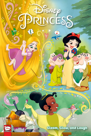 Disney Princess: Gleam, Glow, and Laugh by Amy Mebberson