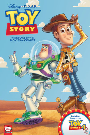 Disney·PIXAR Toy Story 1-4: The Story of the Movies in Comics by Alessandro Ferrari