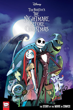 Disney The Nightmare Before Christmas: The Story of the Movie in Comics by Alessandro Ferrari