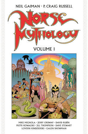 Norse Mythology Volume 1 (Graphic Novel) by Neil Gaiman and P. Craig Russell