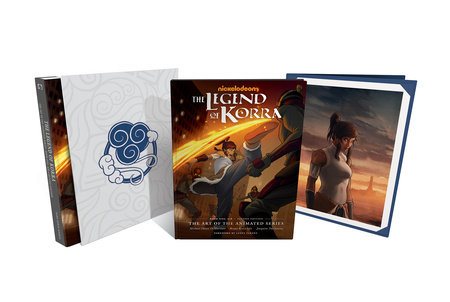 The Legend of Korra: The Art of the Animated Series--Book One: Air Deluxe Edition (Second Edition) by Michael Dante DiMartino and Bryan Konietzko