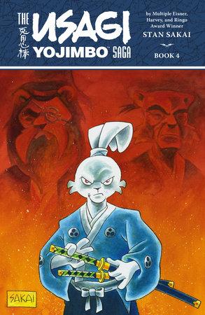 Usagi Yojimbo Saga Volume 4 (Second Edition) by Stan Sakai