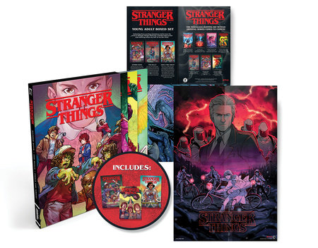 Stranger Things Graphic Novel Boxed Set (Zombie Boys, The Bully, Erica the Great ) by Greg Pak and Danny Lore