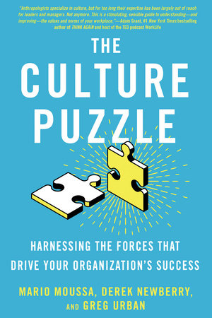 The Culture Puzzle by Mario Moussa