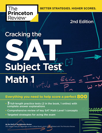Cracking the SAT Subject Test in Math 1, 2nd Edition by The Princeton Review