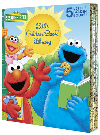 Sesame Street Little Golden Book Library 5 copy boxed set by Sarah Albee and Jon Stone