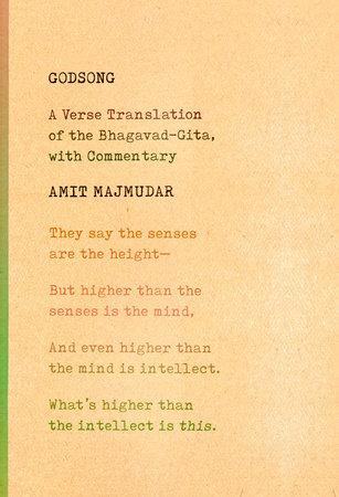 Godsong by Amit Majmudar