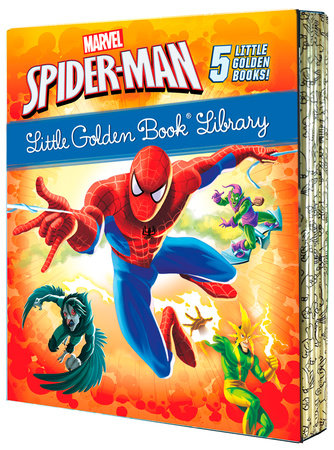 Spider-Man Little Golden Book Library (Marvel) by Various