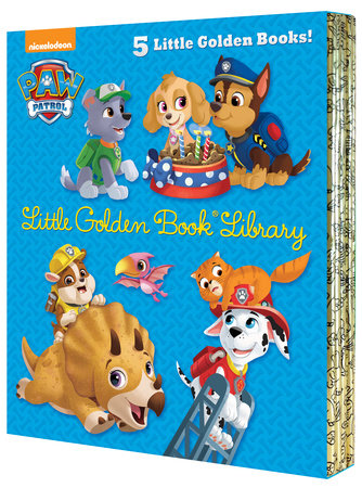 PAW Patrol Little Golden Book Library (PAW Patrol) by Various