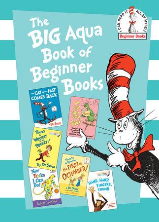 The Big Aqua Book of Beginner Books Cover