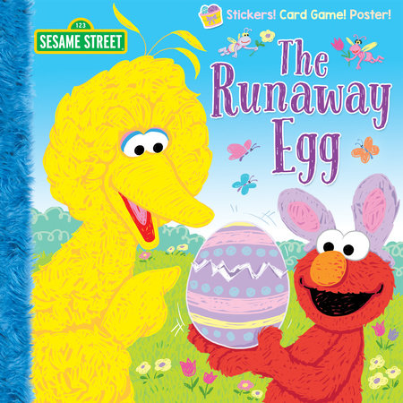 The Runaway Egg (Sesame Street) by Naomi Kleinberg