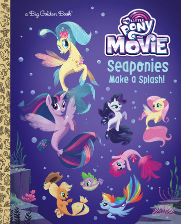 Seaponies Make a Splash! (My Little Pony: The Movie)