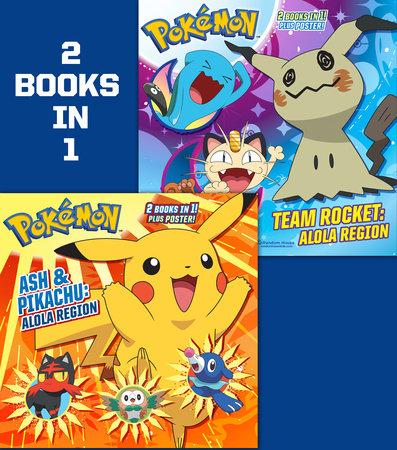Ash and Pikachu: Alola Region/Team Rocket: Alola Region (Pokémon) by Rachel Chlebowski