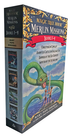 Magic Tree House Merlin Missions Books 1-4 Boxed Set by Mary Pope Osborne