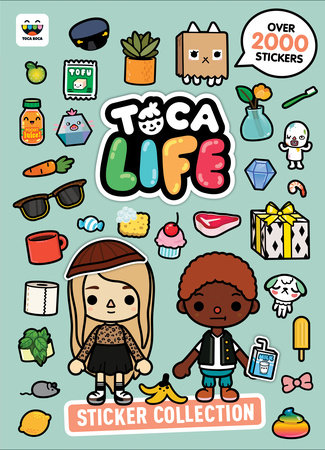 Toca Life Sticker Collection (Toca Boca) by Golden Books; illustrated by Golden Books