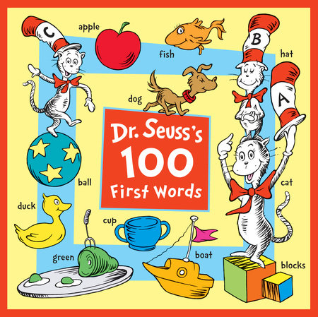 Dr. Seuss's 100 First Words Cover