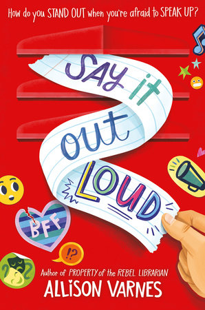 Say It Out Loud by Allison Varnes